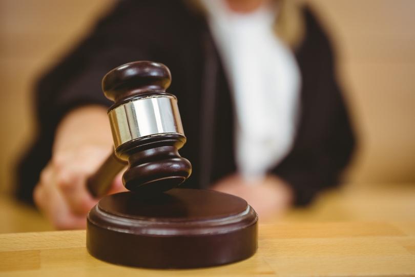 rechter met hamer: te laat hoger beroep ingesteld