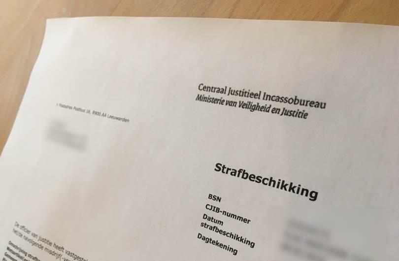 Strafbeschikking - Van Breukelen Advocatuur