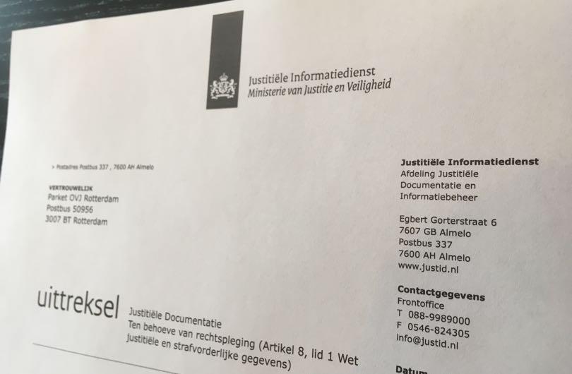 strafblad-justitiële documentatie - Van Breukelen Advocatuur